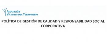 POLÍTICA DE GESTIÓN DE CALIDAD Y RESPONSABILIDAD SOCIAL CORPORATIVA