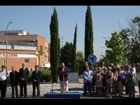 Homenaje de Villaverde a Pedro Domínguez, Luis Claraco y José Luis Jiménez